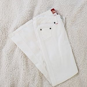 Junior's Eckored White Jean's Size 7
